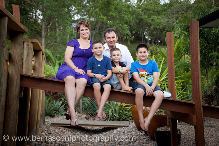 Dave, Deb and the boys…a family photo session