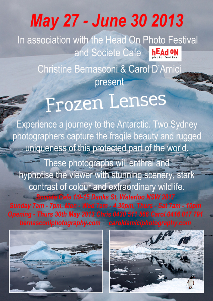 Frozen Lenses Posterfbem